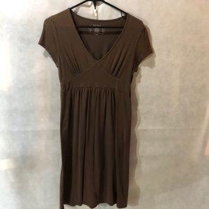 Brown casual dress, super comfortable